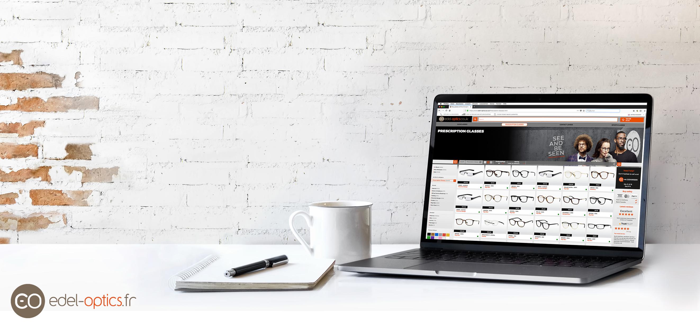 Acheter des lunettes en ligne comment a marche edel for Acheter arbustes en ligne
